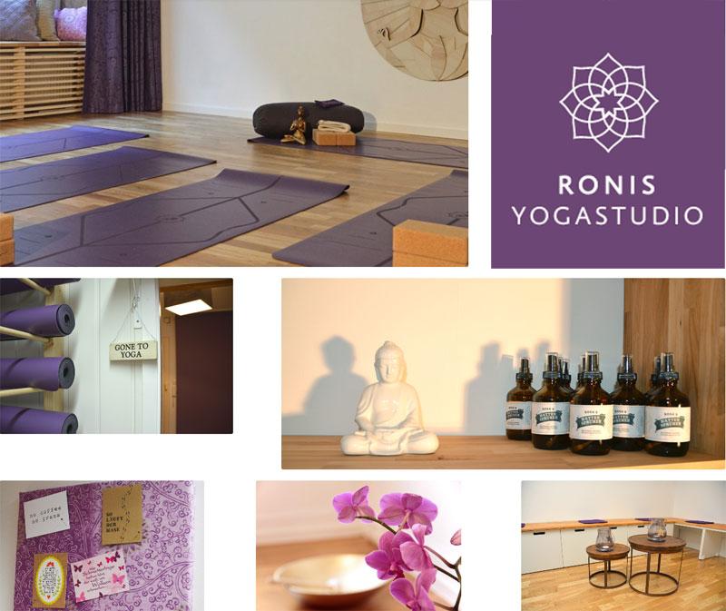 Webrelaunch für Yogastudio - Ronis Yogastudio München