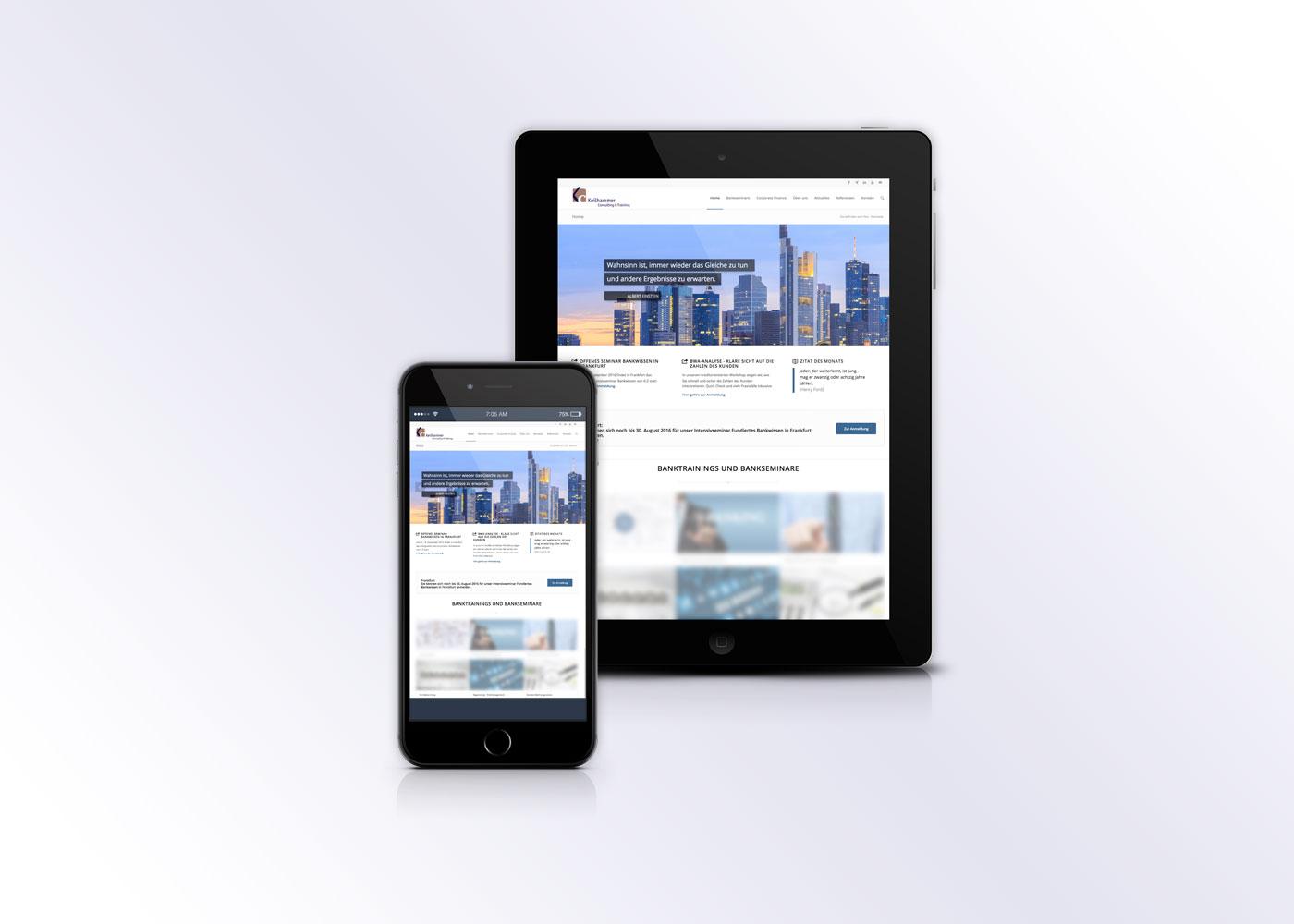 Webrelaunch Wordpress für Beratungshaus